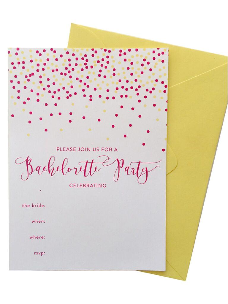 Bachelorette Party Invitation Template 14 Printable Bachelorette Party Invitation Templates