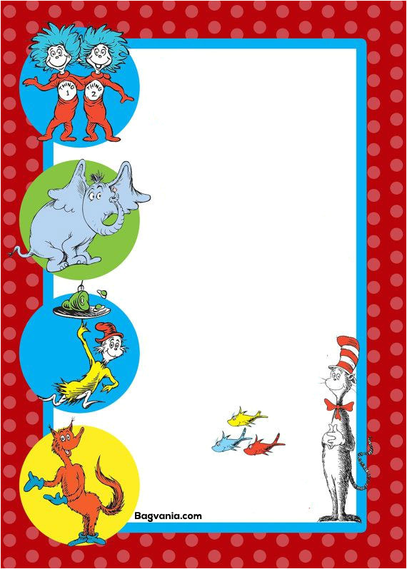Dr Seuss Birthday Invitation Template Dr Seuss Birthday Invitations Printables Free Printable