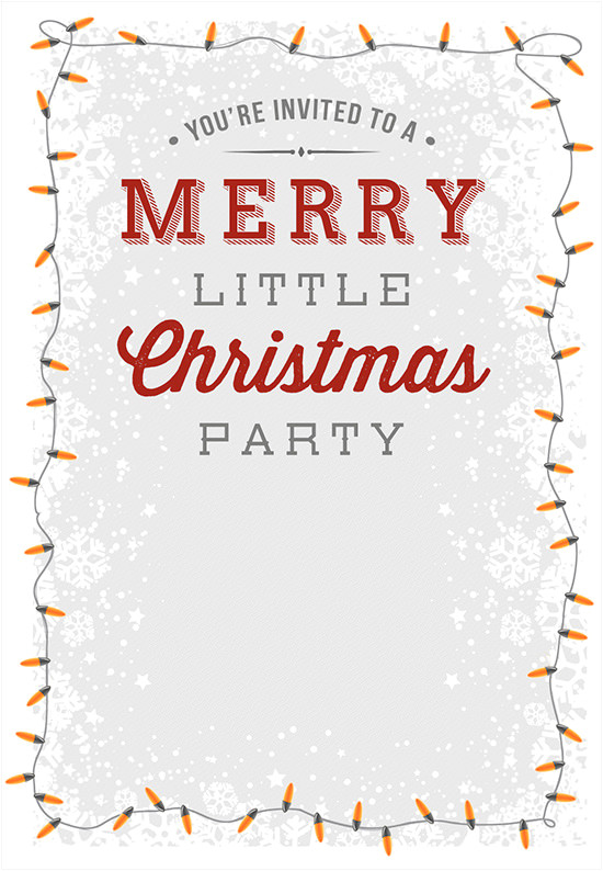 Free Christmas Party Invitation Template 25 Printable Christmas Invitation Templates In
