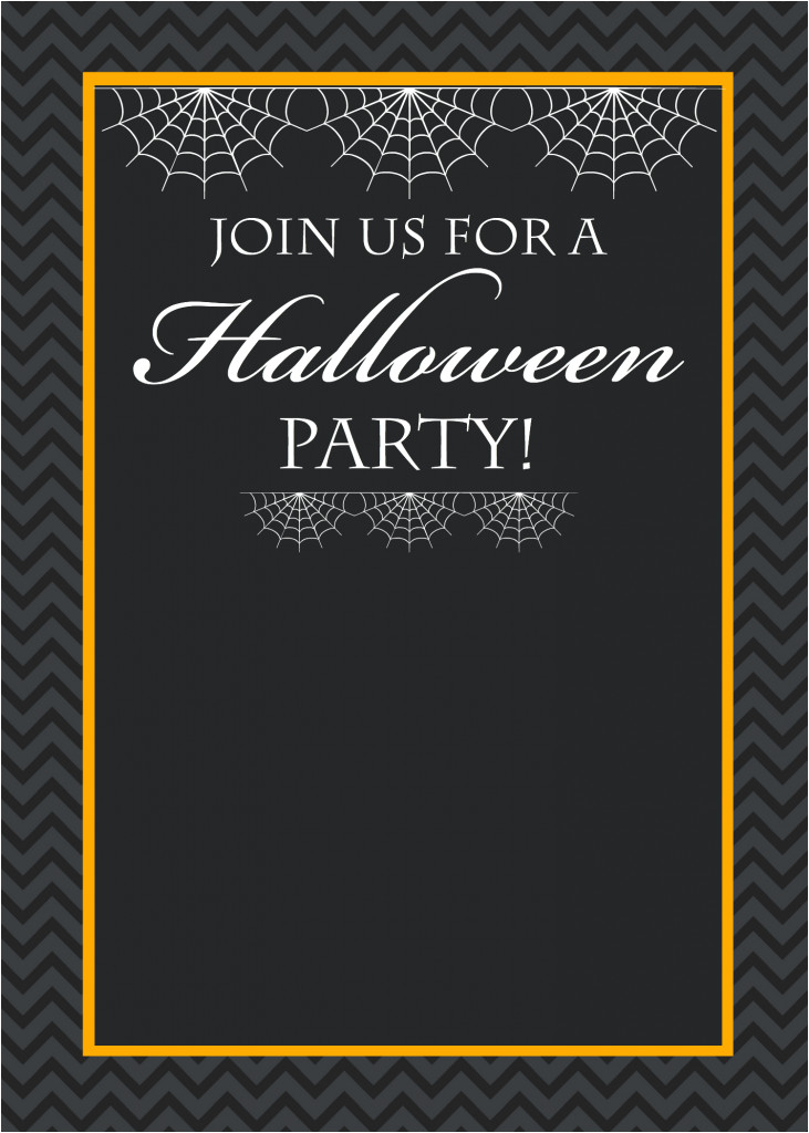 Free Halloween Party Invitation Template Free Printable Halloween Invitations Crazy Little Projects
