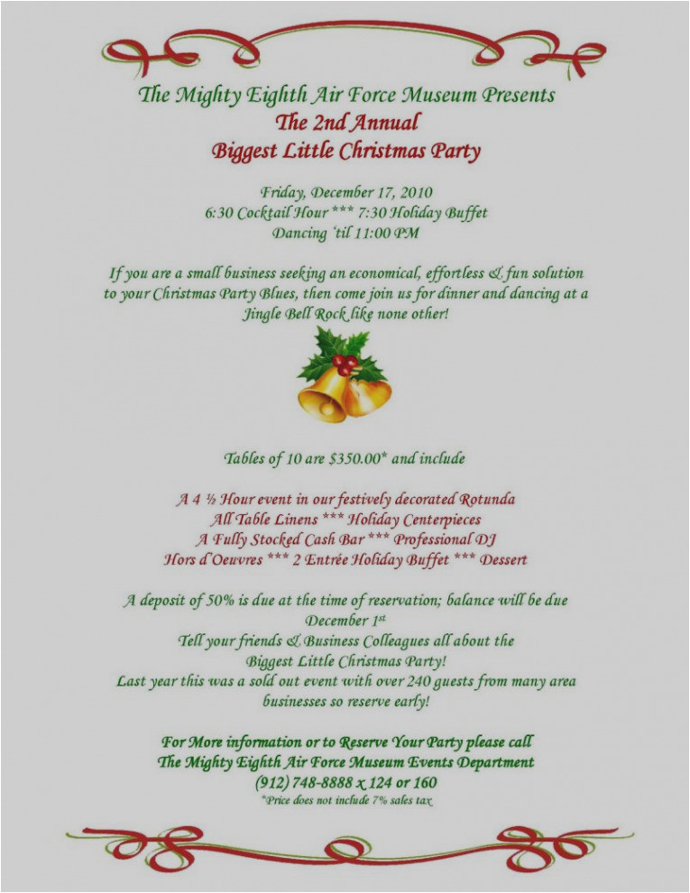Party Invitation Template Mac 9 10 Annual Holiday Party Template Lascazuelasphilly Com