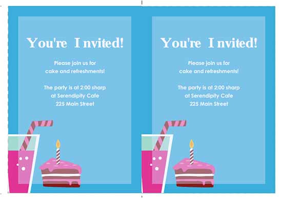 Party Invitation Template Word 6 Free Party Invitation Templates Word Excel Pdf Templates