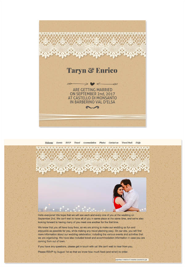 Wedding Invitation Template for Email 8 Wedding E Mail Invitation Templates Psd Ai Word