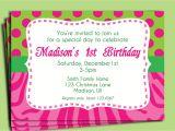 1 Birthday Party Invitation Wording Birthday Invitation Wording Birthday Invitation Wording
