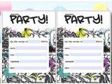 10 Year Old Boy Birthday Party Invitation Wording 12 Year Old Birthday Party Invitation Ideas