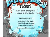 10 Year Old Boy Birthday Party Invitation Wording 17 Best Images About Rockstar Invitations On Pinterest