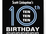 10 Year Old Boy Birthday Party Invitation Wording Birthday Party Invitations Free Templates