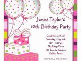 10th Birthday Party Invitation Wording 10th Birthday Party Invitation Wording Cimvitation