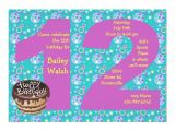 12 Year Old Boy Birthday Party Invitation Template 12 Years Old Birthday Free Printable Birthday