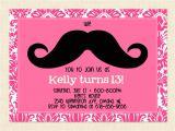 13th Birthday Invitations Printable 13th Birthday Party Invitation Ideas – Bagvania Free