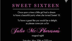 16th Birthday Party Invitations Templates Free Sweet 16th Birthday Invitations Templates Free Printable