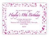 18th Birthday Party Invitations Free 18th Birthday Party Invitations