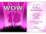 18th Birthday Party Invitations Free 20 Staggering 18th Birthday Party Invitations