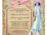1920s Birthday Party Invitations 1920 39 S theme Birthday Party Invitation Zazzle