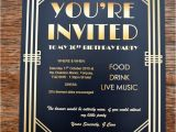 1920s Party Invitation Template Free Gatsby Party Invites Gypsy soul