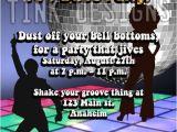 1970s Party Invitations 1970 39 S Disco Birthday Invitations Party Ball 70 39 S Ebay