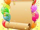 1st Birthday Invitation Frames Birthday Invitation Frames Birthday Frame with 3d