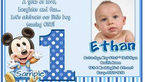 1st Birthday Invitations Boy Templates Free Free 1st Birthday Invitation Maker