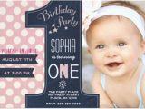 1st Birthday Invitations Templates with Photo Free 30 First Birthday Invitations Free Psd Vector Eps Ai