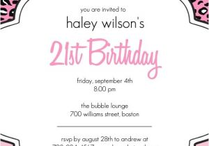 21 Birthday Invitations Templates Free 21st Birthday Invitation Ideas A Birthday Cake