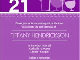 21 Birthday Invitations Templates Free Birthday Invites This is An Example 21st Birthday