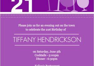 21 Birthday Invitations Templates Free Birthday Invites This is An Example 21st Birthday