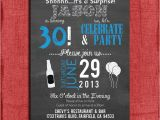 21st Birthday Invitations Male Surprise 21st 30th 40th 50th Chalkboard Style Birthday