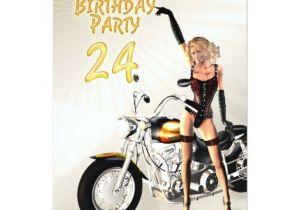 24th Birthday Invitations 24th Birthday Party Invitation