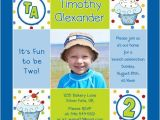 2nd Birthday Invitation Wording for Boy Boy 39 S Cupcake 1st Birthday Invitation Cute Photos Blue Fun