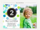 2nd Birthday Invitations Boy Templates Free 2nd Birthday Invitation Boy Blue Green Silver Glitter Second