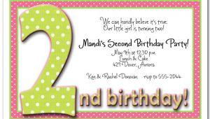 2nd Birthday Invitations Boy Templates Free 2nd Birthday Invitation Wording Ideas – Bagvania Free