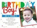 3 Year Old Boy Birthday Party Invitations Having A Ball 4×5 Invitation Card Birthday Invitations