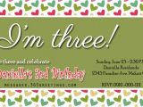 3rd Birthday Invitation Quotes 3rd Birthday Invitations 365greetings