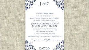 4.5 X 6.5 Wedding Invitation Template Wedding Invitation Template Download Instantly
