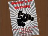 4 Wheeler Birthday Invitations Boys Four Wheeler Birthday Party Invitation Digital or