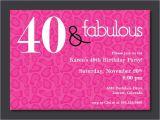 40 Year Birthday Invitation Template 40th Birthday Free Printable Invitation Template