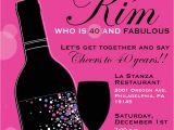 40 Year Birthday Invitation Template 8 40th Birthday Invitations Ideas and themes Sample