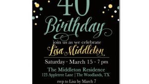 40th Birthday Invitation Templates Free Download 25 40th Birthday Invitation Templates Free Sample