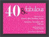 40th Birthday Party Invitations Templates Free 40th Birthday Free Printable Invitation Template