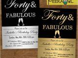 40th Birthday Party Invitations Templates Free 40th Birthday Invitations – 16 Free Psd Vector Eps Ai