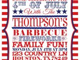 4th Of July Party Invite 6 Best Images Of 4th Of July Printable Invitations July