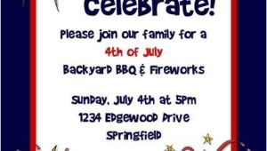4th Of July Party Invite Ideas Fourth July Invitation Free Printable 4th July Free