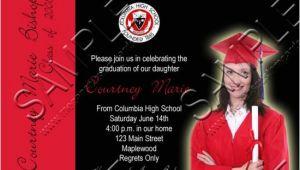4×6 Graduation Invitations 4×6 Quot Photo Graduation Announcement Invitation