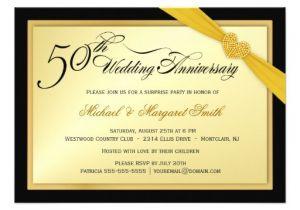 50th Anniversary Surprise Party Invitations 50th Wedding Anniversary Surprise Party Invitation 11 Cm X