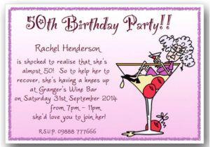 50th Birthday Invitation Ideas Funny 40th 50th 60th 70th 80th 90th Personalised Funny Birthday