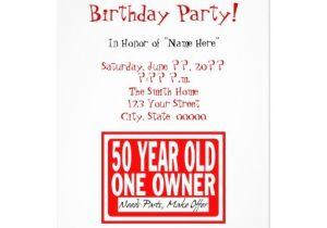 50th Birthday Invitation Ideas Funny Free Printable Funny 50th Birthday Party Invitations