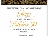 50th Birthday Invitation Templates Free Download 50th Birthday Invitation Templates Free Printable