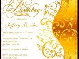 50th Birthday Party Invitation Templates 50th Birthday Invitation Templates A Birthday Cake