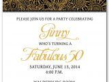 50th Birthday Party Invitation Templates 50th Birthday Invitation Templates Free Printable