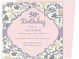 50th Birthday Party Invitation Templates Beautiful and Elegant 50th Birthday Party Invitations